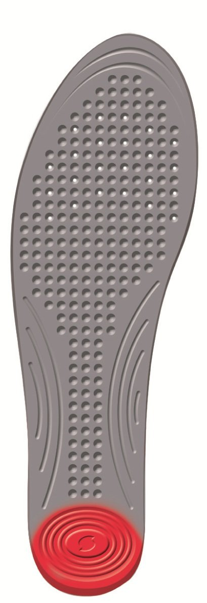 Absorbs Impact and Shock for Performance and Comfort Lightweight /& Suitable for all Sports Footwear Size 3.5-5 Sorbothane Single Strike Insoles Trim to Fit Ideal for Multi-Sports and Activities
