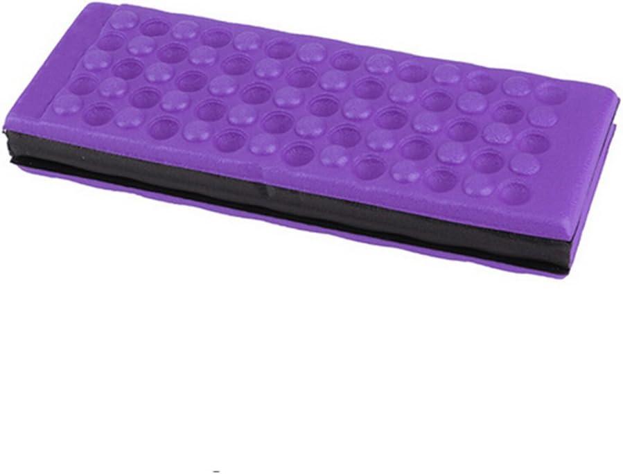 winomo Camping Sitzkissen Matte Pad Kniebank Schaum kniend Pad faltbar Wasserdicht Violett