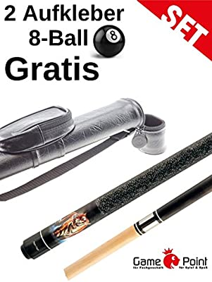 OFERTA. Set: Pool Billar Night Tiger con estuche 1.1 ovalado de ...