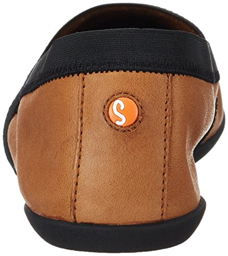 Softinos OBA373SOF, Zapatillas para Mujer Marrón (Camel)