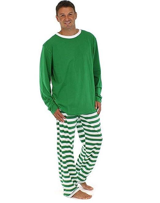Familia Navidad Conjunto De Pijama Navidad Rayas Camisones ...