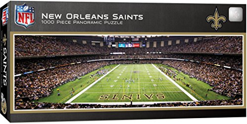MasterPieces NFL New Orleans Saints 1000 Piece Stadium Panoramic Jigsaw Puzzle