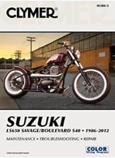 amazon com clymer repair manual for suzuki vs700 vs750 vs800 85 07 rh amazon com 2005 Suzuki Boulevard VS800 2005 Suzuki Boulevard VS800