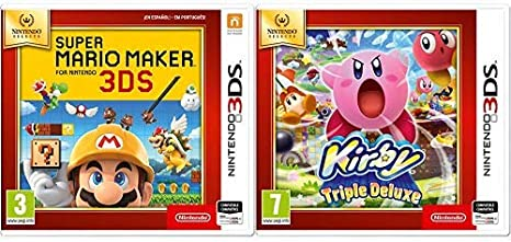 Super Mario Maker SELECTS & Kirby: Triple Deluxe: Amazon.es ...