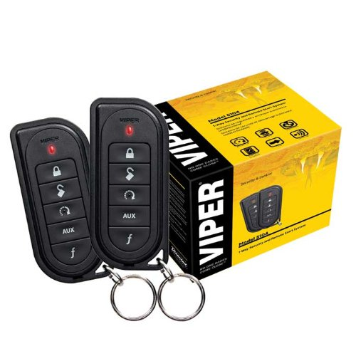 Viper 5104V 1-Way Full Feature Car Alarm with Remote Start