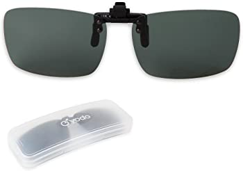 Yodo Upgraded Polarized Flip up Clip-on Sunglasses for Men/Women