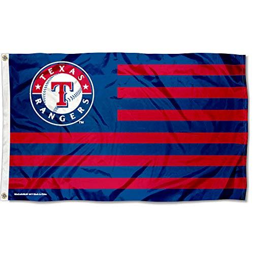 WinCraft MLB Texas Rangers Nation Flag 3x5 Banner