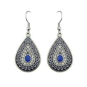 Kayshine Vintage Style Rhinestone Drop Earrings
