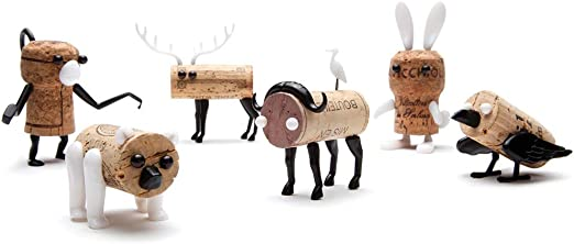 Corkers Animal Pack (6) by monkey business design: Amazon.es ...
