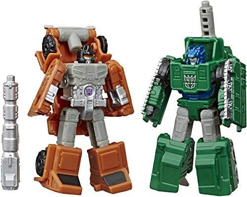 Transformers D/'ASSEDIO CMA GUERRA Cybertron MICROMASTER W2 SOCCORSO Patrol /& GUFO è