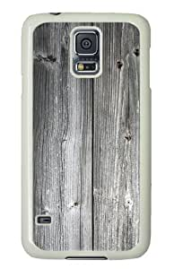 Grey Wood pattern Samsung Galaxy S5 case cover(Good Texture)