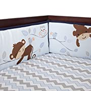 Bedtime Originals Mod Monkey Bumper