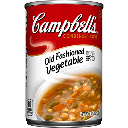 Campbell's Condensed Soup, Old Fashioned Vegetable, 10.5 Ounce (Pack of - Soup Canned