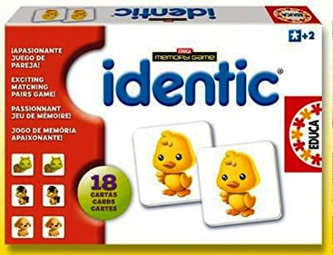 Amazon.com: Educa Identic Memory Game Animals: Toys & Games