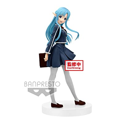 Banpresto Sword Art Online Exq Figure Asuna, Multiple Colors: Toys & Games