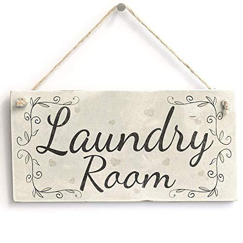 Amazon.com: LOUISF Laundry Room - Handmade Rustic Country ...