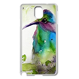 Wholesale Cheap Phone Case For Samsung Galaxy NOTE4 Case Cover -Hummingbird Bird Art Pattern-LingYan Store Case 6