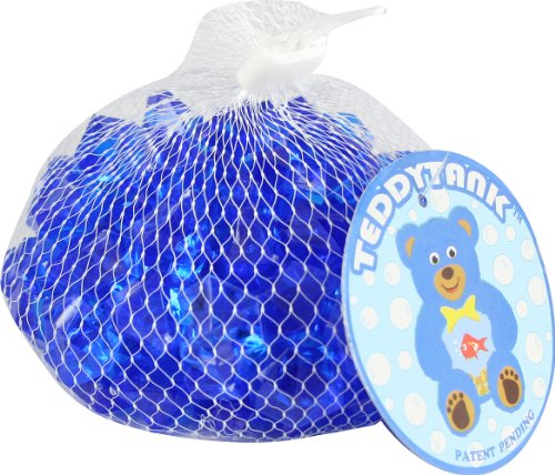 Teddy Tank Toy Accessories with Blue Acrylic Diamond Shaped Stones, 8.8-Ounce by Teddy Tank