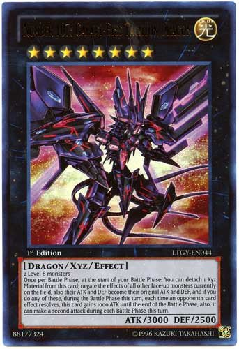 Yu-Gi-Oh! - Number 107: Galaxy-Eyes Tachyon Dragon (LTGY-EN044) - Lord of the Tachyon Galaxy - 1st Edition - Ultra Rare