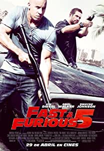 A todo gas 5 (The Fast & Furious 5) [DVD]
