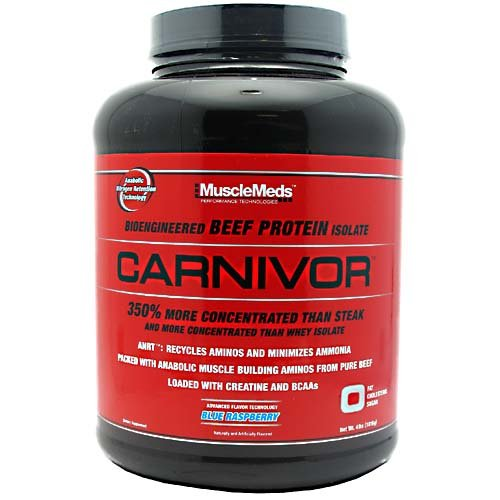 MuscleMeds Carnivor Beef Protein Isolate Supplement Powder