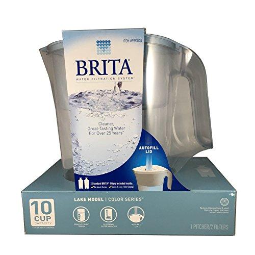 Brita Lake Model color series Blue 10 cup pitcher