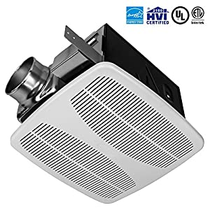 Amazoncom r tech 140 cfm 15 sones bathroom ventilation for 2100 hvi bathroom fan