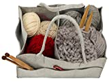 Storage Tote Organizer Caddy|Yarn-Needle Bag|Baby Diaper Tote|Mail Sorter|Arts and Crafts Bag|Nursery Changing Table Organizer|Knitting Tote|Toy Storage Bin|Car Diaper Tote|Guest Room Toiletries Tote