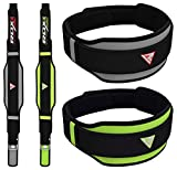 RDX Weight Lifting Belt Neoprene Curved Gym Back Lumbar Support Adjustable Strap Fitness Exercise Buckle Crossfit Workout Bodybuilding