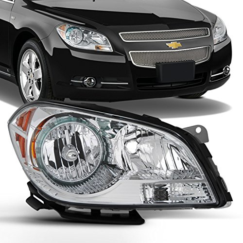 (For 2008 2009 2011 2012 Chevy Malibu Passenger Right Side Headlight Headlamp Replacement Assembly 08-12)