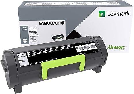 Lexmark 51B00A0 Tóner de láser Negro cartucho de tóner - Tóner ...