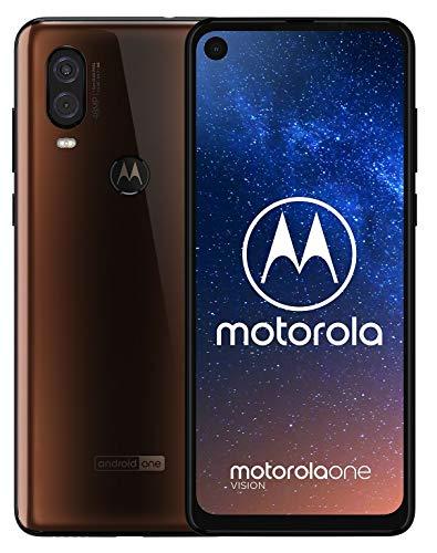 Motorola One Vision XT1970-2 Unlocked GSM Phone w/Dual 48MP & 5MP Camera - Bronze Gradient