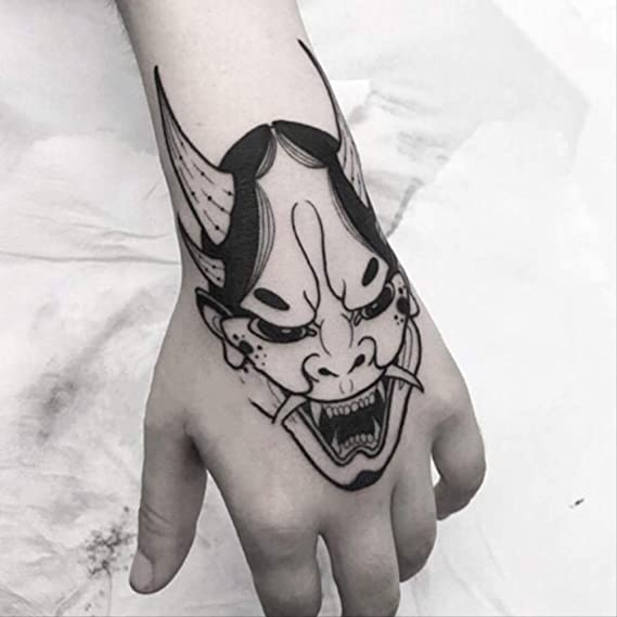 LNNHJB Etiqueta engomada Impermeable del Tatuaje del Brazo de la ...