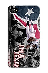 XiFu*MeiThe Newest NFL Houston Texans Terms iphone 4/4s Case Cover for Sport Fans ClubXiFu*Mei