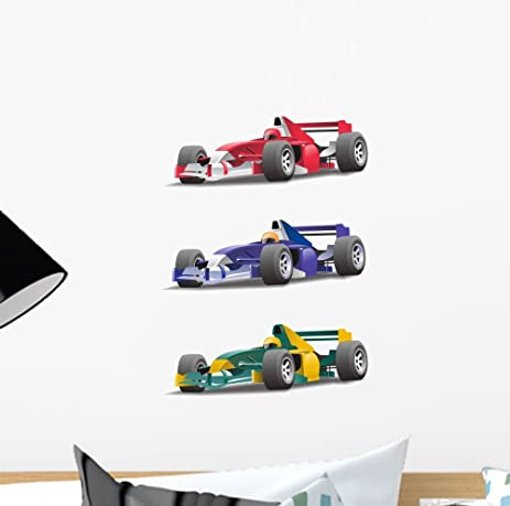 Amazoncom Formula Wall Decal By Wallmonkeys Peel And Stick - Formula 1 wall decals