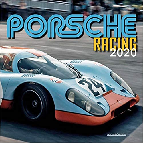 Porsche Racing 2020 Wall Calendar
