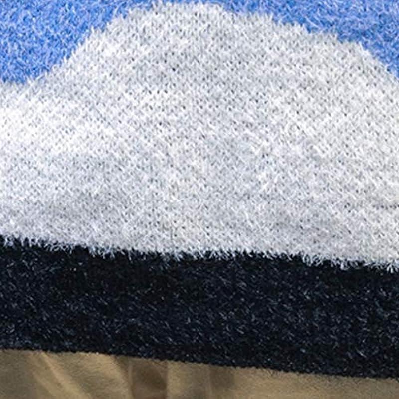 Sweter męski z nadrukiem Fashion Camouflage Sweter: Odzież