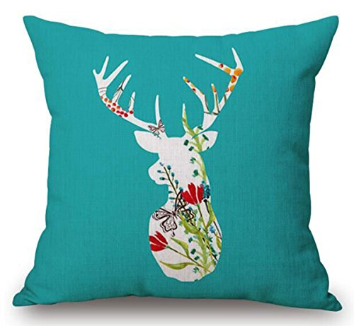 Christmas Cotton Pillow Cushion Decorative