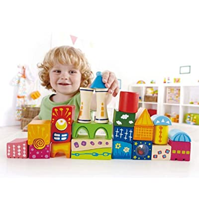 Award Winning Hape Fantasia Castle Blocks: Toys & Games