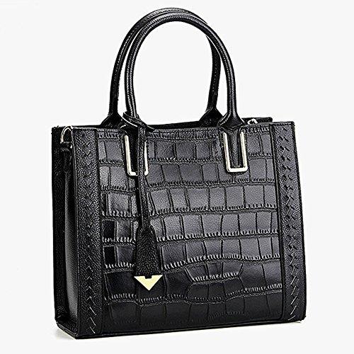 cuir femme à Valin fashion Sac LF bandoulière Sac Noir main épaule Sac en portés M130 Cg00Fnq