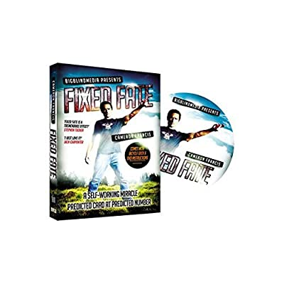 Big Blind Media Fixed Fate aka 'Predicted Card at Predicted Number' (DVD and Gimmick) by Cameron Francis DVD: Toys & Games