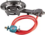 Cheap alp Portable Large Propane Gas Burner Stove Cooking Camping Outdoor W/Hose Quemador de Gas Propano