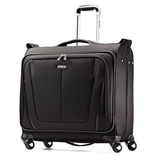 Samsonite Silhouette Sphere 2 Softside Deluxe Voyager Garment Bag, Black, One Size (Luggage Garment Bag With Wheels compare prices)