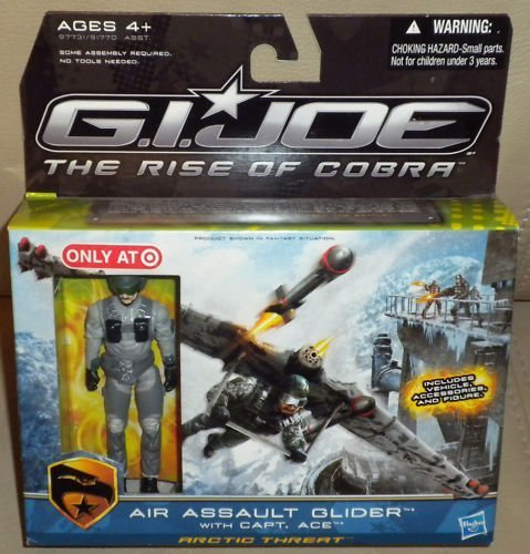 - G.I. Joe Movie The Rise of Cobra Exclusive Air Assault Glider With Capt. Ace
