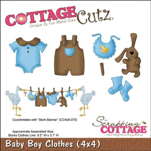 """CottageCutz Dies-Baby Lion 1.3/""""X1.5/"""""""