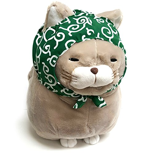 Amazon.com: AMUSE Cat Plush Series Hige Manjyu Fuku Stuffed Animal 13