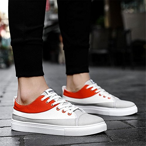 White Spring Shoe Un Shoes Summer Deck Zapatos Comfort Canvas White Mocasines Black Walking Powder Casual Zapatos Lovers para Planos Sneakers EZdCxqC