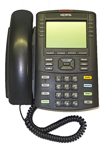 Nortel 1230 Ip Phone With English Text Key Caps  Ntys20    Certified Refurbished