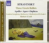 Stravinsky: Three Greek Ballets (Apollo, Agon, Orpheus) by London Symphony Orchestra (2006-08-01)