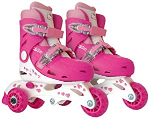 HELLO KITTY - Patin 2 en 1 evolutivos (talla ajustable 27-30)